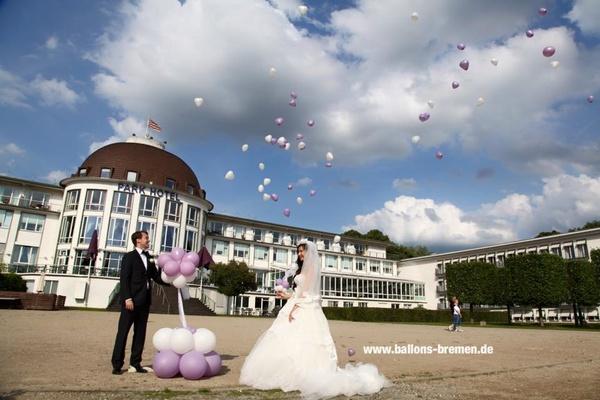 Ballonkünstler Marvin Ohmstedt - Hochzeitsdekoration - Bremen