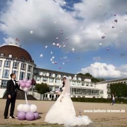 Ballonkünstler Marvin Ohmstedt-Hochzeitsdekoration-Bremen-1