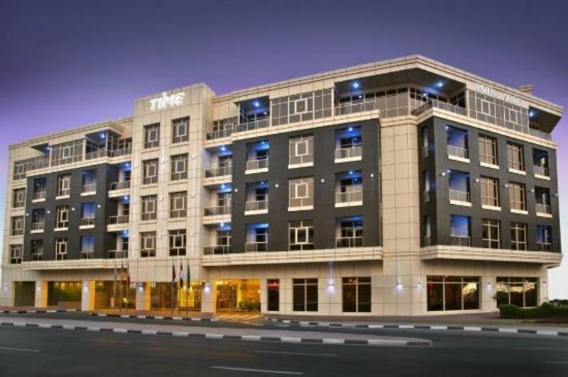 فندق تايم جراند بلازا - الفنادق - دبي