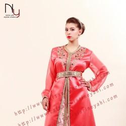 قفطان نسرين ياحي-فستان الزفاف-الرباط-3