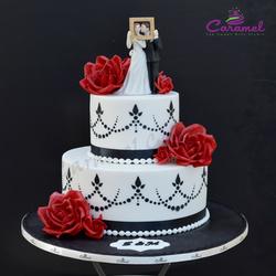 الكرمل-كيك الزفاف-الدوحة-6