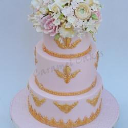 الكرمل-كيك الزفاف-الدوحة-3
