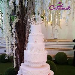 الكرمل-كيك الزفاف-الدوحة-1