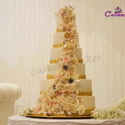 الكرمل-كيك الزفاف-الدوحة-4