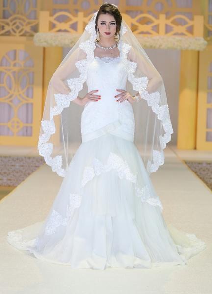 أزياء دلال  - فستان الزفاف - مسقط