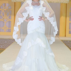 أزياء دلال -فستان الزفاف-مسقط-1