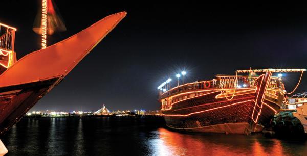 قارب الممتاز - المطاعم - دبي