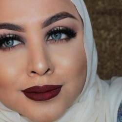 عهود العبيدي -الشعر والمكياج-القاهرة-4