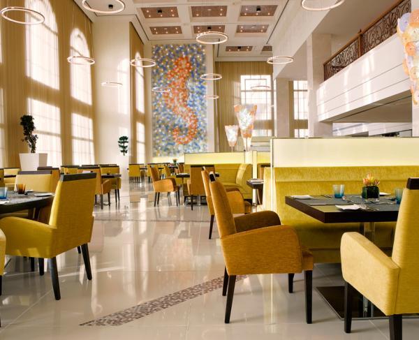 بلو اورانج - المطاعم - دبي