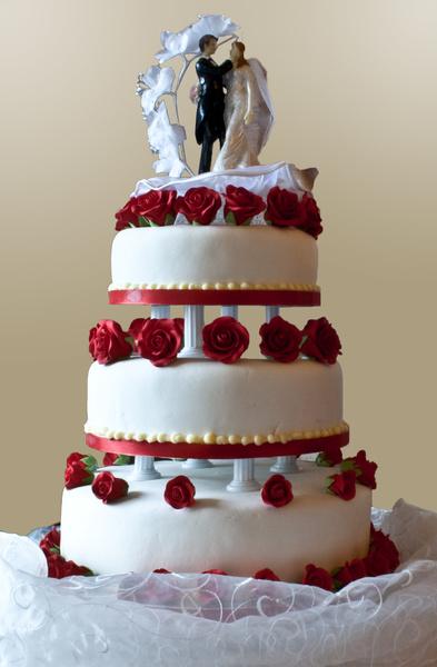 حلواني بلوبيري - كيك الزفاف - دبي