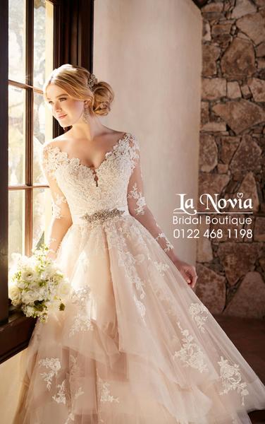 لا نوفيا - فستان الزفاف - القاهرة