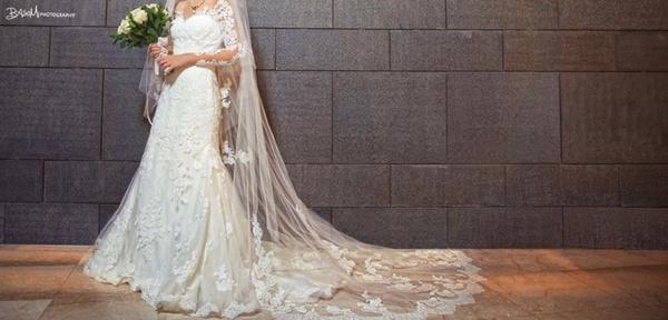 فاطمة عبد العال - فستان الزفاف - الاسكندرية