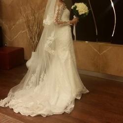 فاطمة عبد العال-فستان الزفاف-الاسكندرية-2