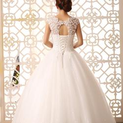 لار دو لا ماريي-مادام حي-فستان الزفاف-الدار البيضاء-1