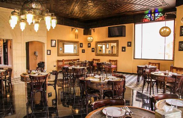 مقهى خان فاروق - المطاعم - الدوحة