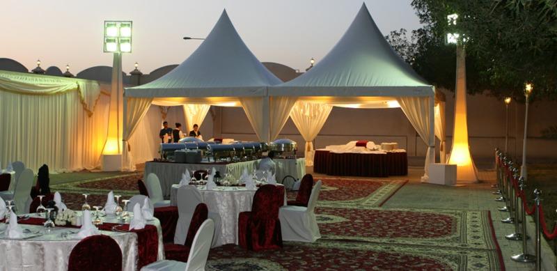 شركة الاندلسية - خيام الاعراس - الدوحة