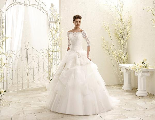 قصر العرائس نادية - فستان الزفاف - الدار البيضاء