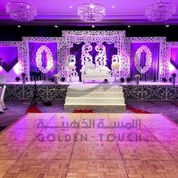 اللمسة الذهبية لتنظيم الحفلات-كوش وتنسيق حفلات-أبوظبي-3