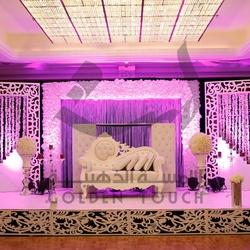اللمسة الذهبية لتنظيم الحفلات-كوش وتنسيق حفلات-أبوظبي-4