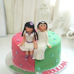 لولو الورديه-كيك الزفاف-الدوحة-5