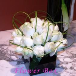 علبة الزهور العالمية-زهور الزفاف-دبي-2