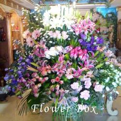 علبة الزهور العالمية-زهور الزفاف-دبي-1