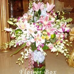 علبة الزهور العالمية-زهور الزفاف-دبي-4
