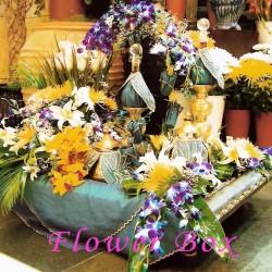 علبة الزهور العالمية-زهور الزفاف-دبي-3