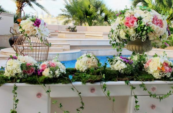فينتج بلوم - زهور الزفاف - دبي