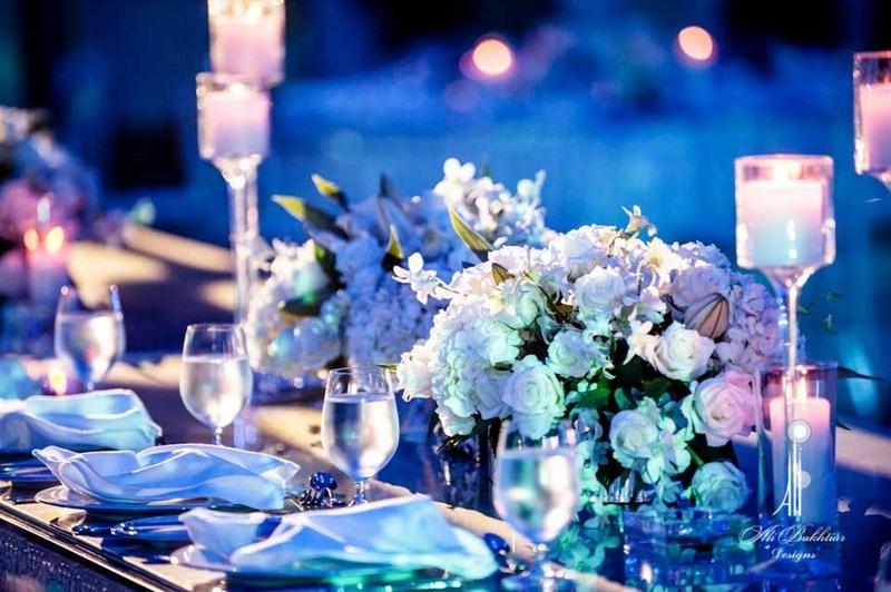 علي بختيار لتنسيق حفلات الزفاف - كوش وتنسيق حفلات - دبي
