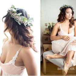 العروس و الطفل-الشعر والمكياج-الدوحة-6