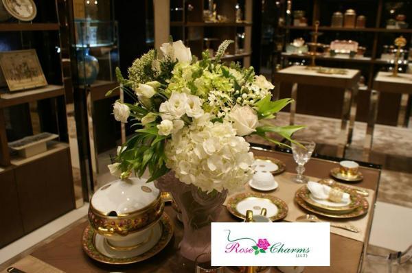 روز تشارمز - زهور الزفاف - دبي