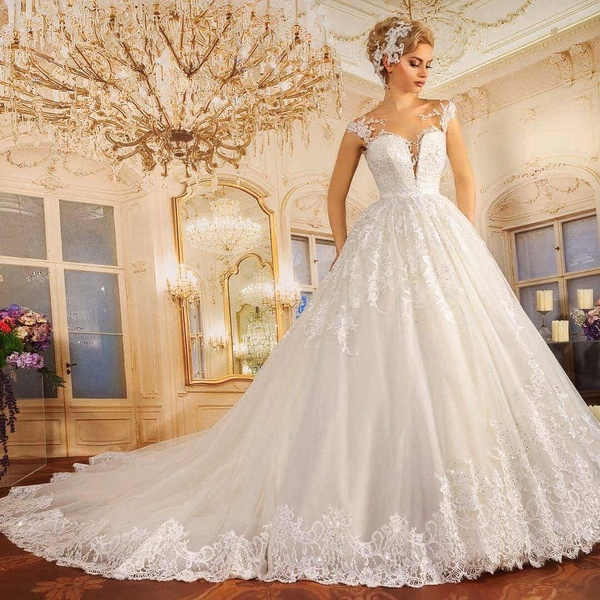 العروس الاميرة - فستان الزفاف - المنامة
