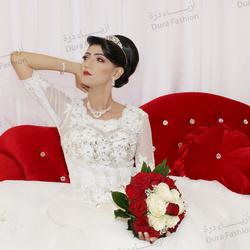 أزياء درة-فستان الزفاف-مسقط-1