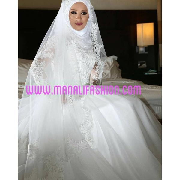 منالي فاشن  - فستان الزفاف - دبي