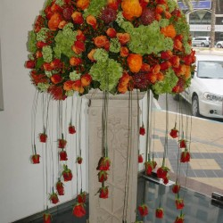 سفير-زهور الزفاف-أبوظبي-2