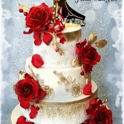 فن الكيك-كيك الزفاف-أبوظبي-2