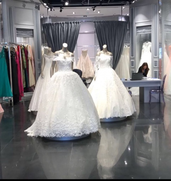الدقر كوتور  - فستان الزفاف - أبوظبي