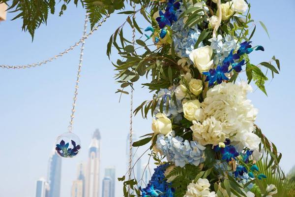 بلوزوم تريي - زهور الزفاف - دبي