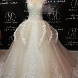 المصمم محمد ياسين-فستان الزفاف-القاهرة-3
