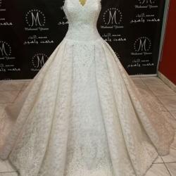 المصمم محمد ياسين-فستان الزفاف-القاهرة-2