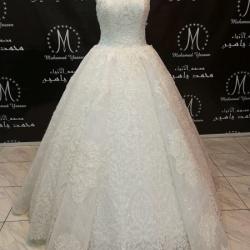 المصمم محمد ياسين-فستان الزفاف-القاهرة-4