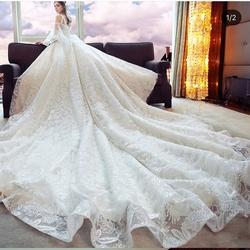 نيلوفر فلور-فستان الزفاف-مدينة الكويت-5