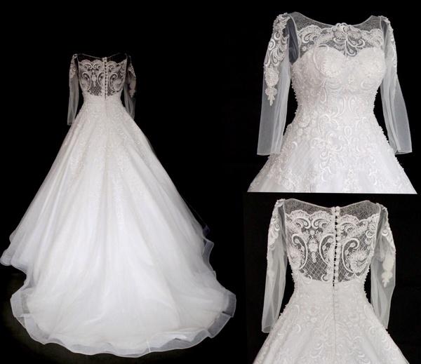 خيالي للأزياء - فستان الزفاف - مسقط