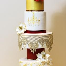 CAKEPICUREAN-كيك الزفاف-الدوحة-3