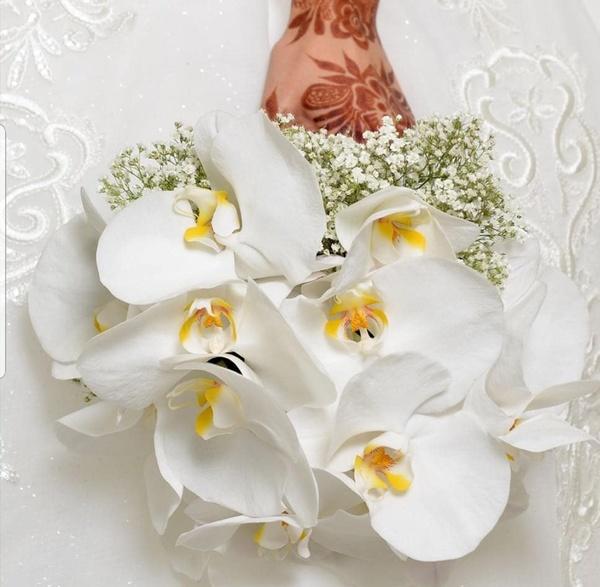 مملكة الزهور - زهور الزفاف - مسقط