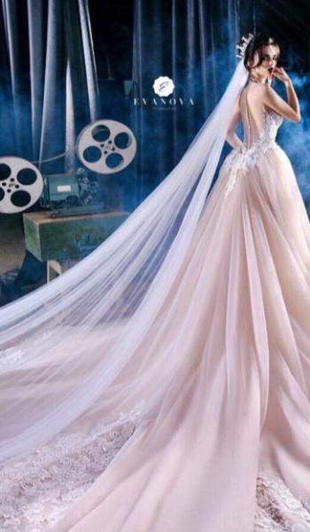 إيفانوفا - فستان الزفاف - أبوظبي