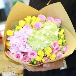 لاين بوكيه-زهور الزفاف-مدينة الكويت-3