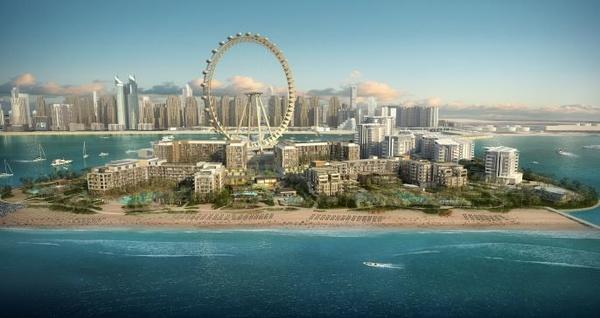 سيزر بالاس بلو واترز دبي - الفنادق - دبي