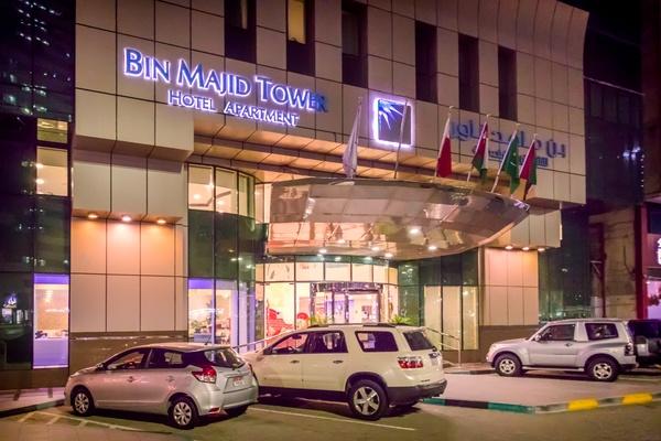 بن ماجد تاور للشقق الفندقية - الفنادق - أبوظبي